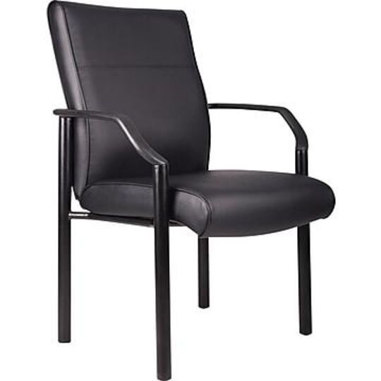 Boss Guest Chair, Bonded Leather, B