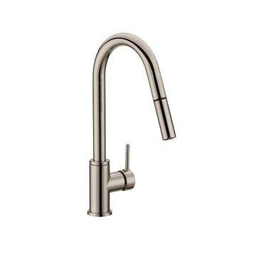 Design House 548305 Eastport Pull-Down Kitchen Faucet, Satin Nickel