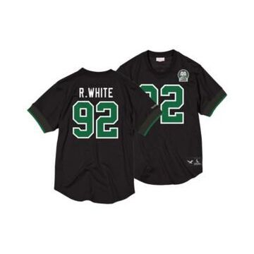Mitchell & Ness Men's Reggie White Philadelphia Eagles Name & Number Mesh Crewneck Top