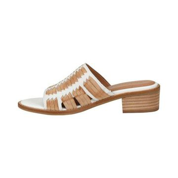 Comfortiva Womens Brileigh Leather Open Toe Casual