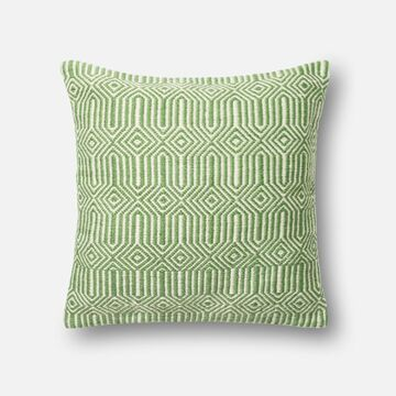 DSETP0339GRIVPIL3 22 x 22 in. Decorative Down Filled Pillow with Cover, Green & Ivory