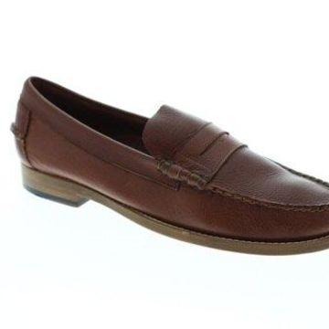 Sebago Legacy Penny Brown Tan Mens Casual Loafers & Slip Ons