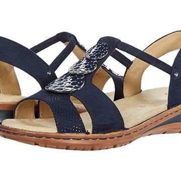 ara Helaine (Navy Punti/Scala) Women's Shoes