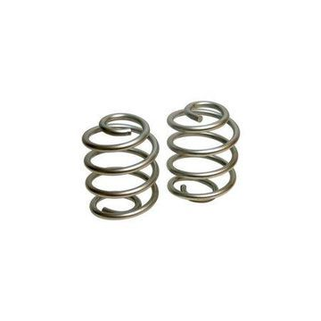 Belltech 5352 Lowering Springs, Powdercoated Silver, Rear