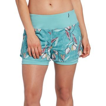 CALIA by Carrie Underwood Women's Printed 2-in-1 Shorts