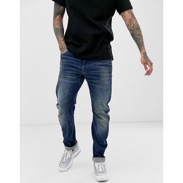 G-Star Arc 3D slim fit jeans in medium aged-Blue