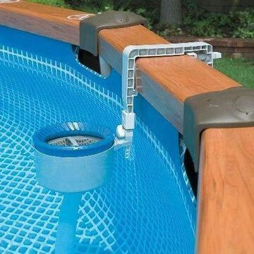 Intex 28000E Deluxe Wall Mount Surface Skimmer Above Ground Swimming Pool 58949E