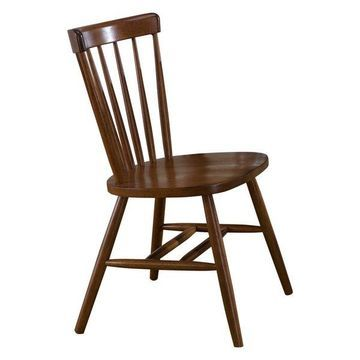 Liberty Furniture Creations II Copenhagen Dining Side Chair, Tobacco
