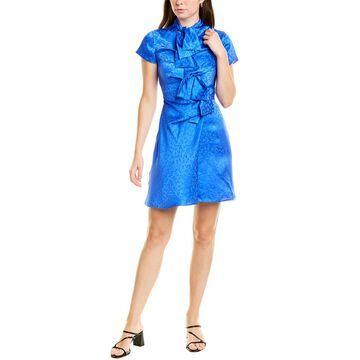 Saloni Kelly Silk Mini Dress