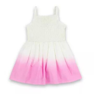 Sovereign Code Size 0-3M Camila Ombre Dress in Cream/Pink