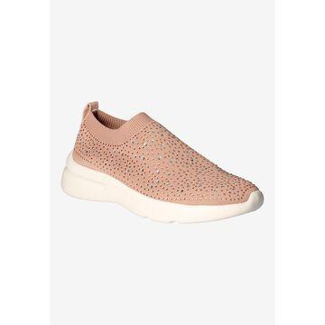 Women's Vessa Sneakers by J. Renee in Dusty Pink Stretch (Size 10 1/2 M)