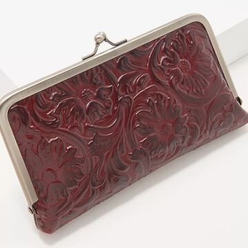 Patricia Nash Leather Everly Frame Wallet