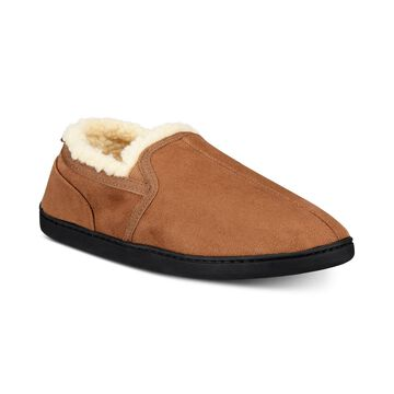Men's Twin Gore Faux-Suede Slippers