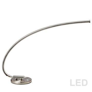 Dainolite LED Table Lamp - Satin Chrome