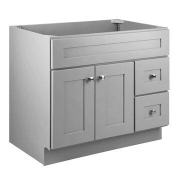 Design House Brookings 36-in Gray Bathroom Vanity Cabinet | 587097