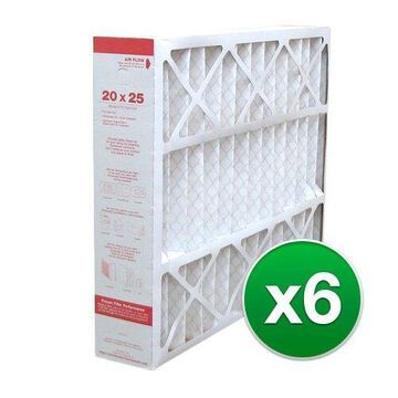 Replacement For Honeywell F100F1038 20x25x5 Air Cleaner Filter - MERV 11(6 Pack)
