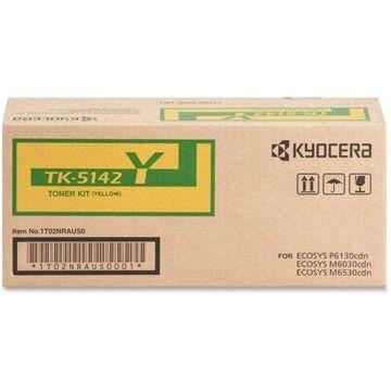 Kyocera, KYOTK5142Y, TK-5142 Toner Cartridge, 1 Each